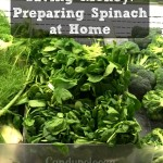 Saving Money: Preparing Spinach at Home #MoneySavingTips