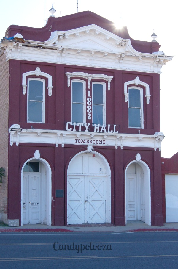 Tombstone City hall