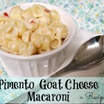 Pimento Goat Cheese Macaroni a Recipe