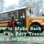 How to Make Back to School an Easy Transition for a Military Child & #TMOM Twitter Party Info 8/31 9PM EST