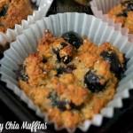 Blueberry Chia Muffins Recipe