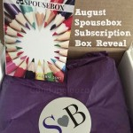August Spousebox Subscription Box Reveal