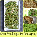 5 Green Bean Recipes for Thanksgiving