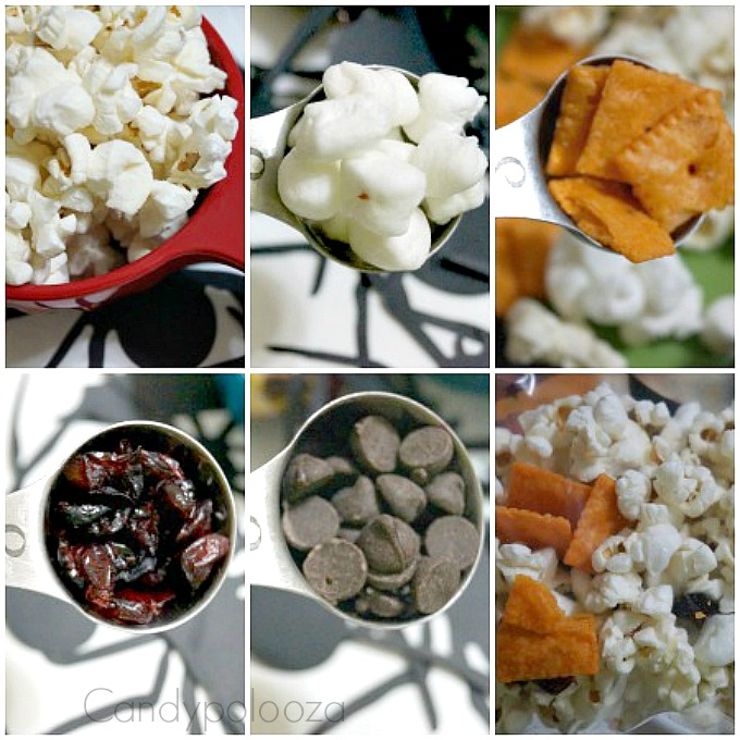 Snack Mix Collage