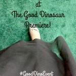 Walking the Green Carpet at The Good Dinosaur Premiere! #GoodDinoEvent