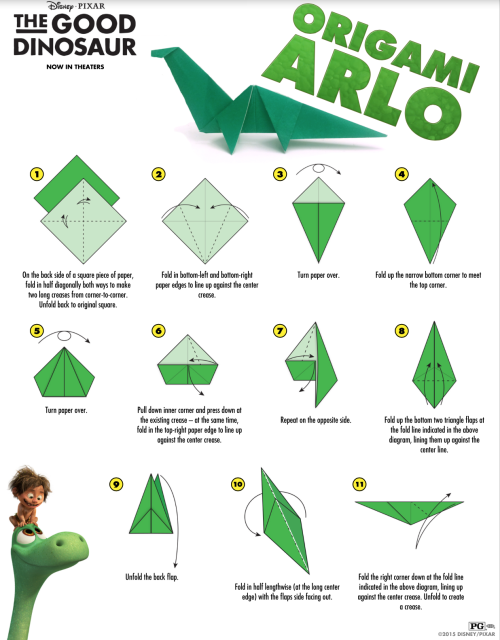Click on the link to access full pdf. *There are 2 pages for the origami.*