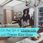 On the Set of black-ish with Tracee Ellis Ross
