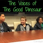 The Voices of The Good Dinosaur #GoodDinoEvent