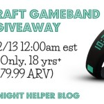 Enter to WIN in The MineCraft Gameband Giveaway!