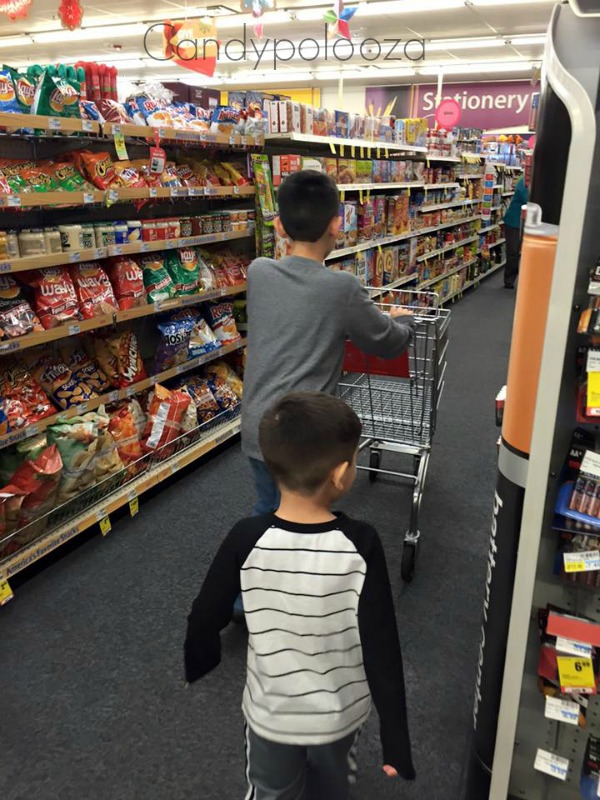 Boys Shopping at CVS
