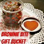 Brownie Bite Gift Bucket