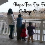 Hope For The Future College Students #ForTheDream #ad