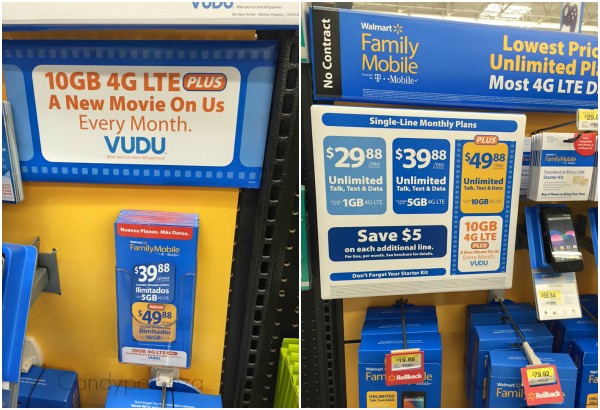 Walmart Family Mobile Collage