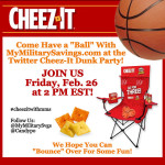 Have a Ball at the #CheezItWithMMS Twitter Party