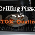 Grilling Pizza on the STOK Quattro #GetSTOKed