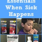 Having The Essentials When Sick Happens + Giveaway