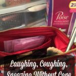Laughing, Coughing, Sneezing Without Care With Poise #PoiseLinerLove #ad
