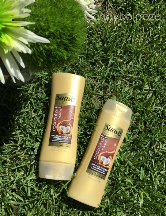 Suave Coconut Oil Shampoo and Conditioner