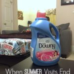 When Summer Visits End  #ProtectClothesYouLove AD
