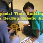 Special Time Building the HexBug Robotic Arm #TechToys AD