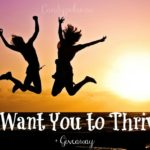 I Want You to Thrive + Giveaway