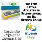 Top Four Latina Athletes to Follow during the Rio Olympic Games