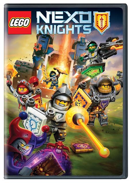 LEGO NEXO KNIGHTS DVD