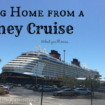 Coming Home from a Disney Cruise #CruceroDisney #DisneyCruise AD