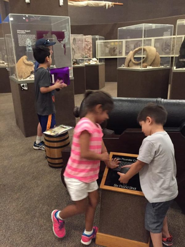 I LOVED how kid friendly the museum was. The kids were over the moon during our visit!