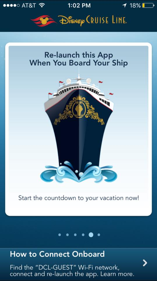 Disney Cruise Line App 1