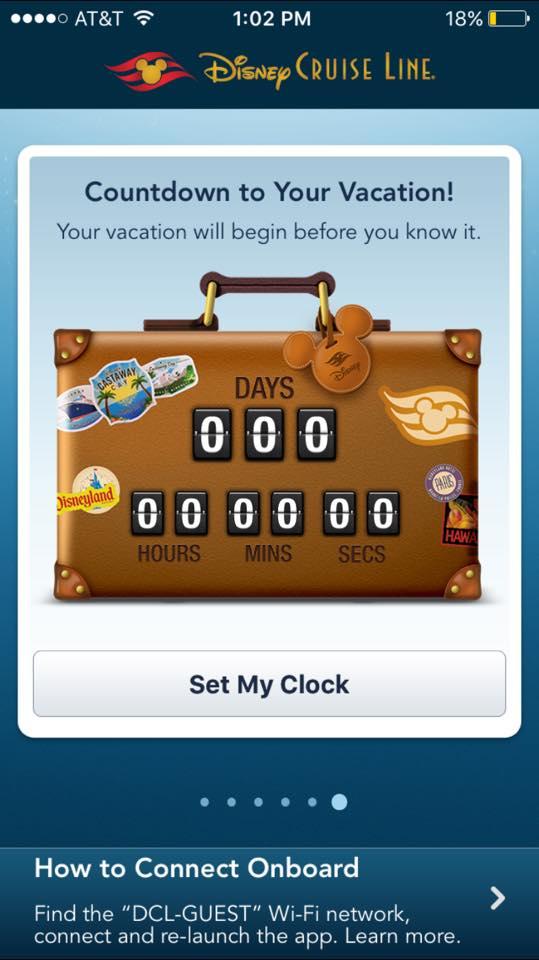 Disney Cruise Line App 3