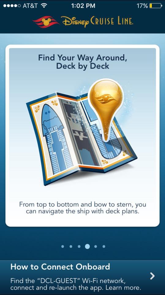 Disney Cruise Line App 2