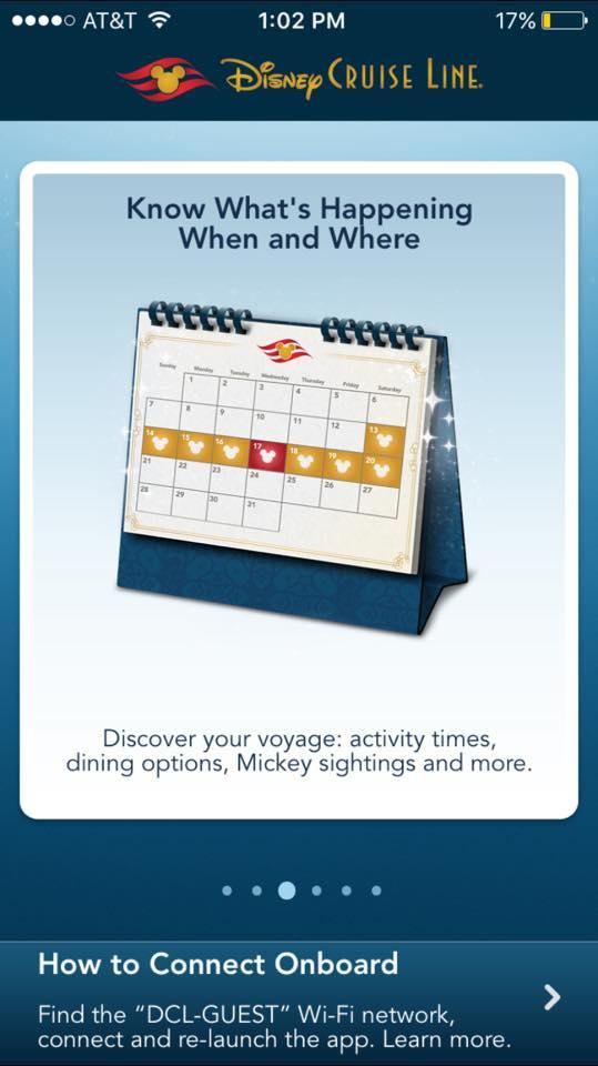 Disney Cruise Line App 4