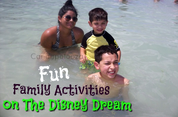 Fun Family Activities on the Disney Dream
