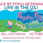 Peppa Pig Live Coming to Augusta October 23rd AD