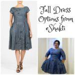 Fall Dress Options from eShakti AD