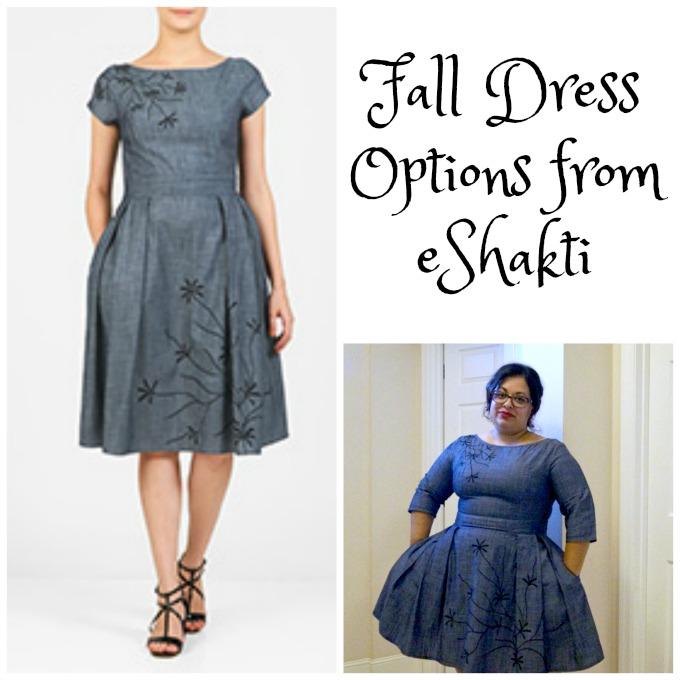 a6b06c16a0 Fall Dress Options from eShakti AD - Candypolooza