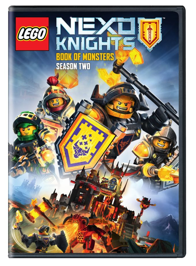 LEGO Nexo Knights Season Two Book of Monsters Available January 2017!