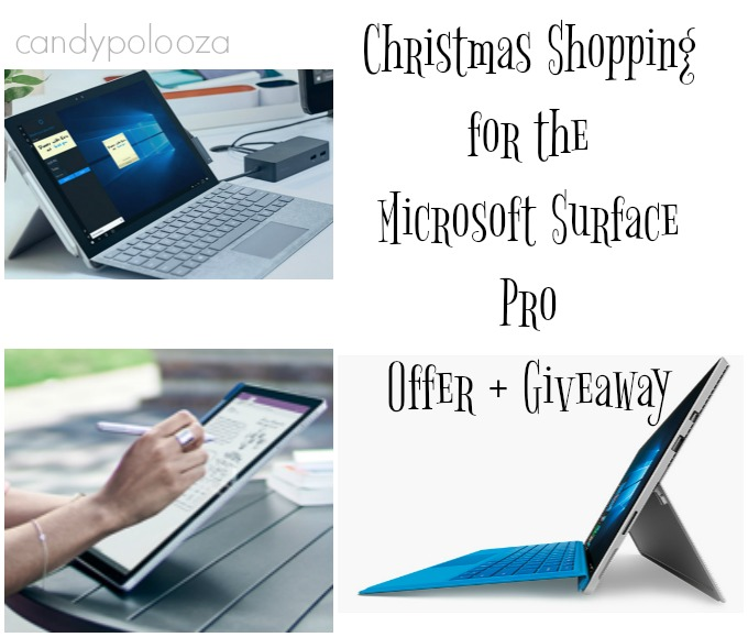 Christmas Shopping for the Microsoft Surface Pro Offer +