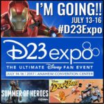 Disney D23 Expo Here I Come #D23Expo