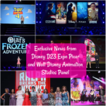 Exclusive News from Disney D23 Expo Pixar and Walt Disney Animation Studios Panel #D23Expo