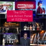 The EPIC Live Action Panel at D23Expo