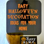 Easy Halloween Decoration Ideas For Your Home