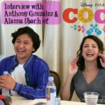 Interview with Anthony Gonzalez and Alanna Ubach of Disney Pixar Coco #PixarCocoEvent
