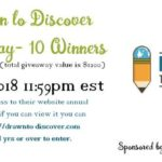 Enter the Drawn to Discover Giveaway