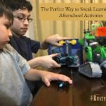The Perfect Way to Sneak Learning Into Afterschool Activities #RustyRivets AD