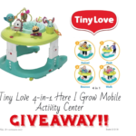 Tiny Love Here I Grow Mobile Activity Center Giveaway AD