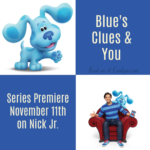 Blue's Clues & You Series Premiere November 11th on Nick Jr. #BluesCluesAndYou