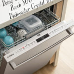 Doing the Dishes with the Bosch 800 Series Dishwasher Crystal Dry