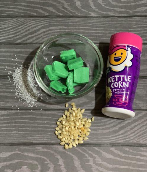 Maleficent Popcorn Ingredients, recipe, ingredients